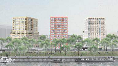 Molenbeek: avis positif pour la construction de 244 logements avenue du Port
