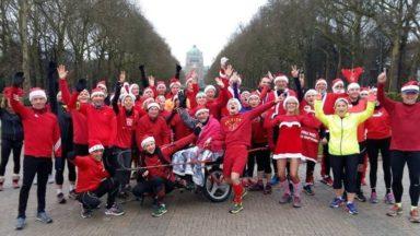 La traditionnelle course à pied de Noël du Joggans a rassemblé une cinquantaine de participants
