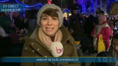 Les marchés de Noël sont légion ce week-end : à Anderlecht aussi, les chalets ont poussé
