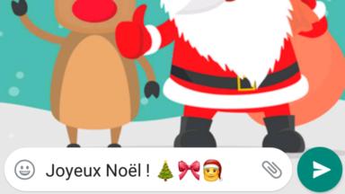Vous êtes de plus en plus nombreux à envoyer vos voeux de Noël via les réseaux sociaux