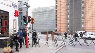 La police s'attend à des embarras de circulation dans le quartier européen ce samedi