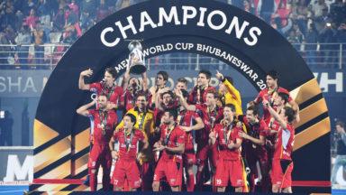 Les Red Lions sont de retour en Belgique après leur sacre mondial