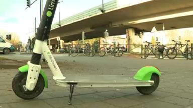 Ixelles : un jeune homme emmené à l'hôpital après une violente chute à trottinette électrique