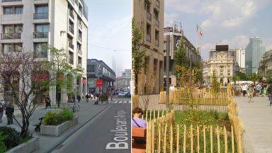 #10yearschallenge : en 10 ans, les lieux mythiques de la Région bruxelloise ont bien changé