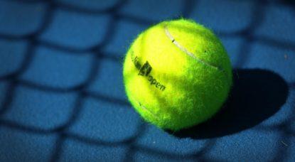Balle de tennis - Australian Open - Illustration Belga Yorick Jansens