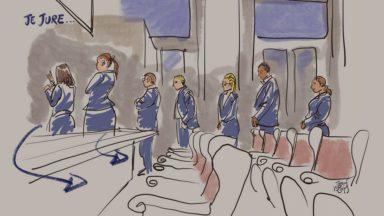 """Procès de l'attentat du Musée juif : les enquêteurs reviennent sur """"l'exécution"""" des victimes"""