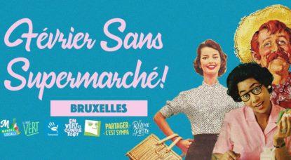 Février sans Supermarché - Logo Campagne 2019