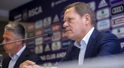 Frank Arnesen - RSC Anderlecht - Belga Hatim Kaghat