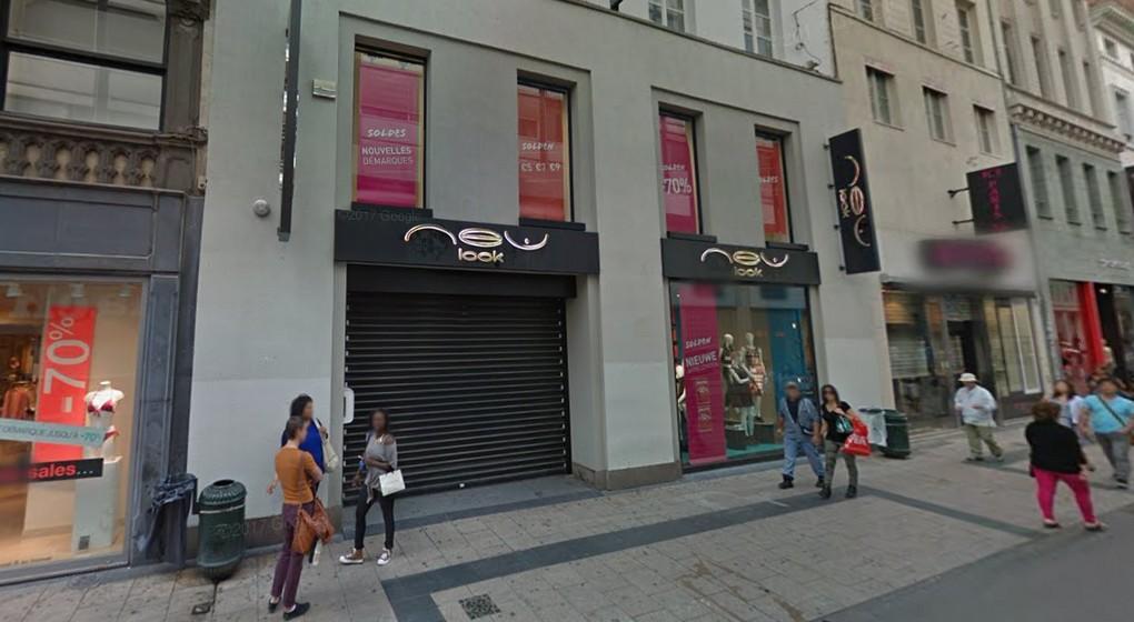 Magasin New Look - Rue Neuve Bruxelles - Google Street View