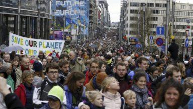 Une nouvelle marche pour le climat s'annonce dimanche à Bruxelles