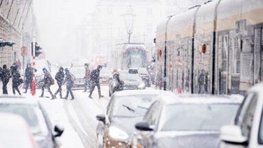 L'IRM prévoit de deux à cinq centimètres de neige mardi matin