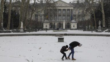 La neige est tombée sur Bruxelles : voici les plus belles photos du manteau blanc