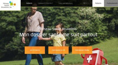 Page accueil - Site Internet Réseau Santé Bruxellois