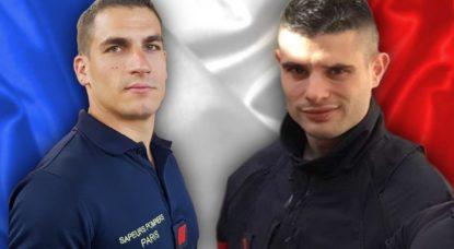 Pompiers Paris Décédés - Hommage