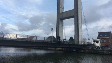Grimbergen: les travaux de réparation du pont pourraient durer jusqu'à quatre mois