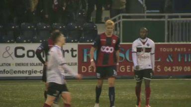 D1 amateurs : nul blanc entre le RFC Liège et le RWDM après un match sous tension