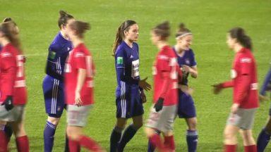 Le verdict à propos du match féminin Standard-Anderlecht attendu pour vendredi