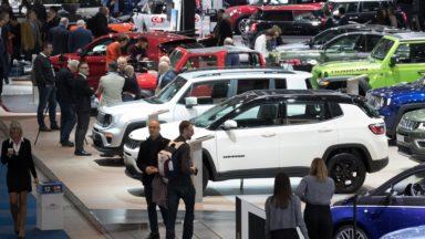 Salon de l'auto : plus de 100.000 visiteurs lors du premier week-end