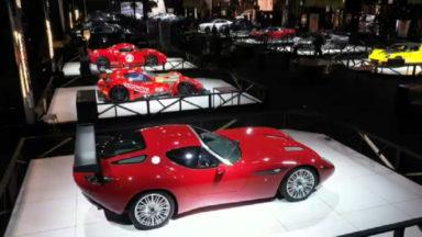 Des voitures de rêves exposées au Salon de l'auto