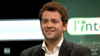 """Laurent Hacken (cdH) à propos de l'élection de Maxime Prévot : """"Ça va donner un nouveau souffle"""""""
