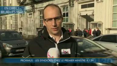Proximus : le Premier ministre rencontre les syndicats ce lundi à 13h