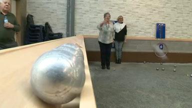 Etterbeek : les boulistes inaugurent leur toute nouvelle salle de pétanque