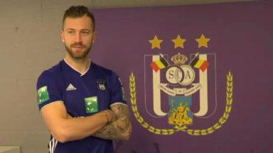 """Présentation de Peter Zulj à Anderlecht : """"Je viens gagner avec cette équipe"""""""