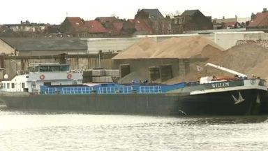 Affaissement d'un pont à Humbeek : l'activité économique du port de Bruxelles fortement touchée