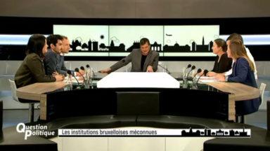 """Comment les Bruxellois envisagent-ils l'avenir de la Région et des 19 communes? Débat dans """"Question Politique"""""""