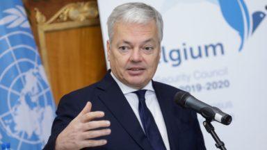 Réunion des pays membres du Conseil de sécurité de l'ONU à Bruxelles