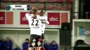 D1 amateurs : victoire du RWDM face à Dender (2-0)