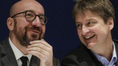 Charles Michel remplace Olivier Chastel à la présidence du MR