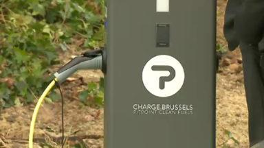La Région bruxelloise inaugure ses quatre premières bornes de recharge électrique