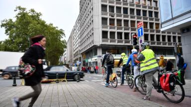 Le nombre de cyclistes a presque doublé en cinq ans à Bruxelles