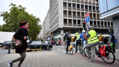 Bruxelles Mobilité : 64% de déplacements cyclistes en plus en 2020