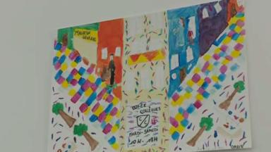 Boulevard Général Jacques : une expo de dessins d'enfants dans les commerces durant les travaux