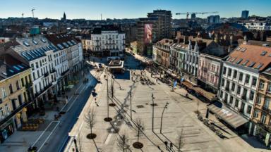 Etterbeek : la nouvelle place Jourdan inaugurée ce jeudi