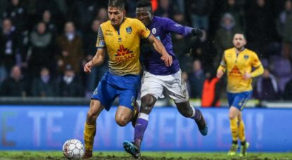 Football - Union Saint-Gilloise - Beerschot Wilrijk - Belga David Pintens