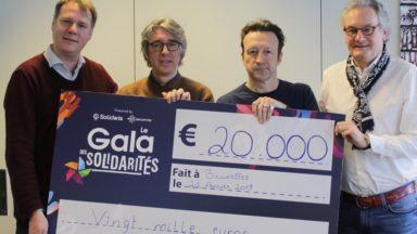 Le Gala des Solidarités rapporte 20.000 euros à Médecins du Monde et Infirmiers de Rue