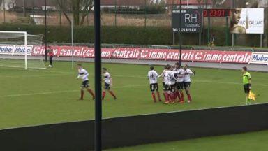 D1 amateurs : le RWDM triomphe sous la pluie à Knokke (0-2)