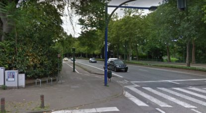 Radar Boulevard Lambermont - Google Street View