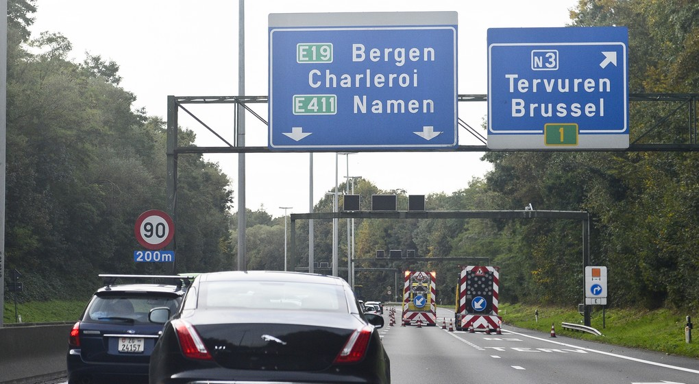 Ring de Bruxelles - Quatre Bras de Tervueren - Belga Laurie Dieffembacq