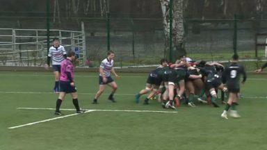 Rugby : le Kituro remporte le derby bruxellois face à Boitsfort (27-13)