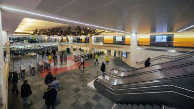Nouveau look pour la station Bourse qui accueille un parking vélo et un espace culturel