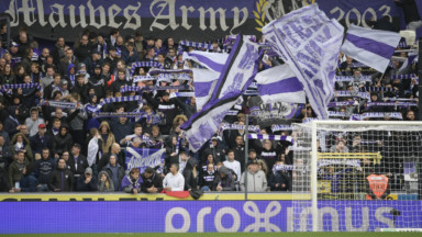 Anderlecht ne sera pas sanctionné pour les chants de ses supporters face au Club Bruges