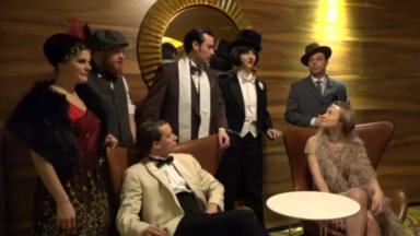 """Immersion dans les années folles de """"Gatsby le Magnifique"""" dans un endroit tenu secret à Bruxelles"""