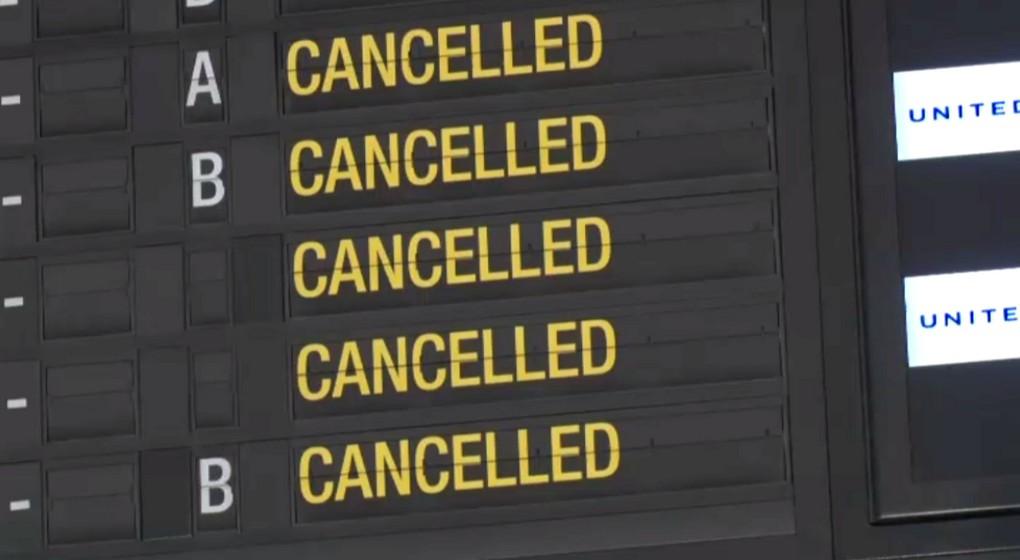 Vols annulés - Brussels Airport Aéroport de Zaventem - Belga Vidéo