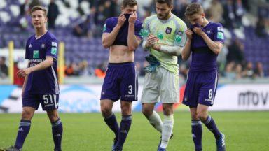 Le choc entre Anderlecht et le club de Bruges se termine sur un partage (2-2)