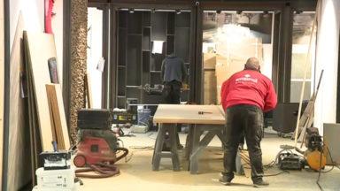 Batibouw : derniers préparatifs avant l'ouverture du salon jeudi