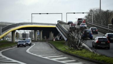 """L'E40 rétrécie vers Bruxelles : Beci pointe des """"occasions manquées"""""""